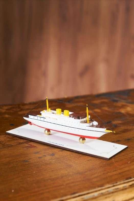 Savarona Vapuru Gemi Maketi Küçük
