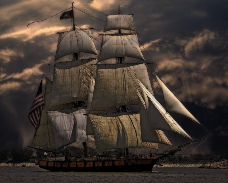 İlk Yelkenli Geminin Keşfi- Ahşap Yelkenli Gemi Maketi
