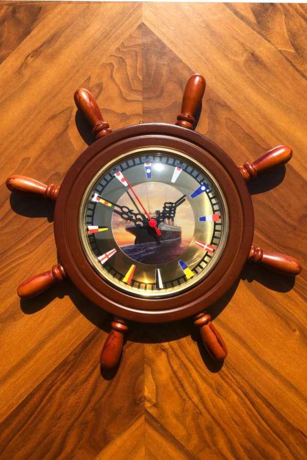 Dümen Duvar Saati Titanik-2