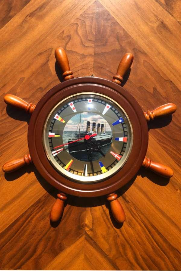 Dümen Duvar Saati Titanik-1