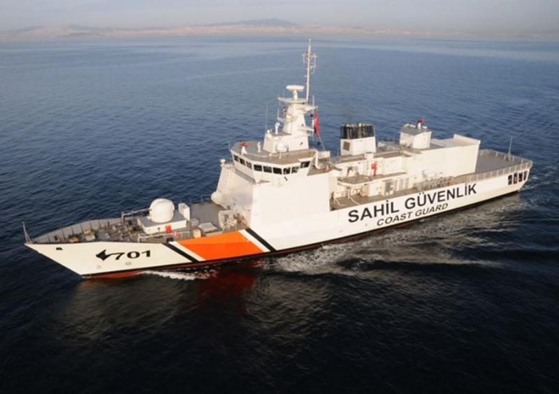 Coast Guard Vessels Protecting All Coasts of Turkey