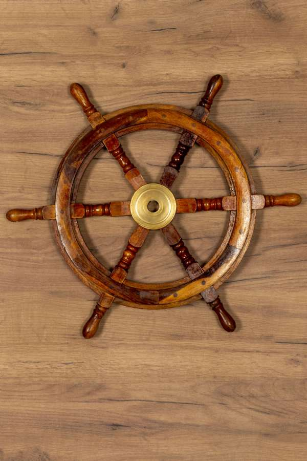 Ahşap Gemi Dümeni
