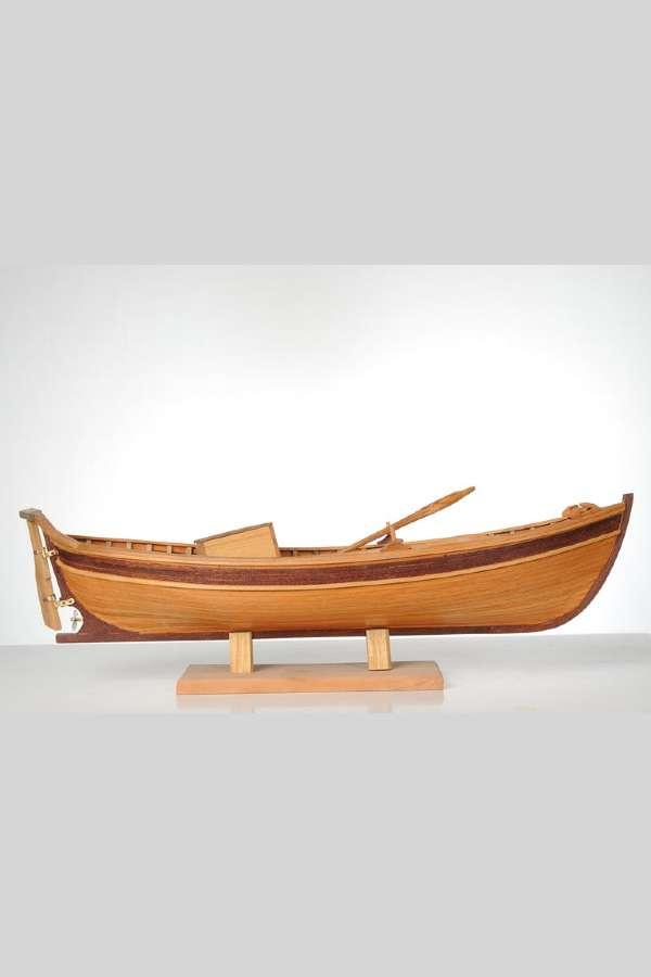 Ahşap Balıkçı Teknesi Gemi Maketi